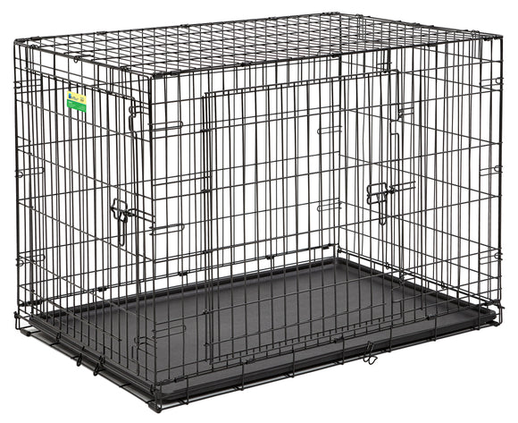 Contour Double Door Dog Crate 42 Inch