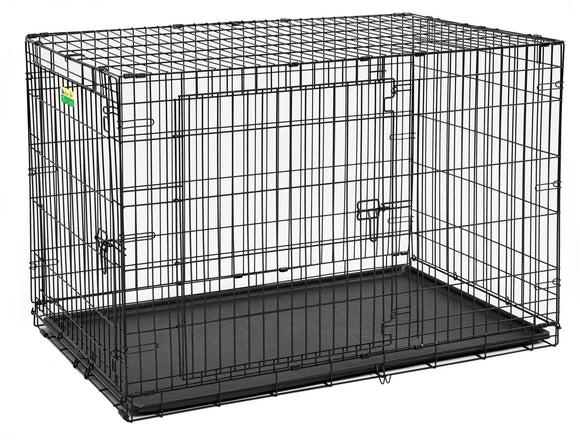Contour Double Door Dog Crate 48 Inch
