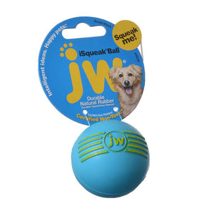 JW Pet iSqueak Ball - Rubber Dog Toy (443030)