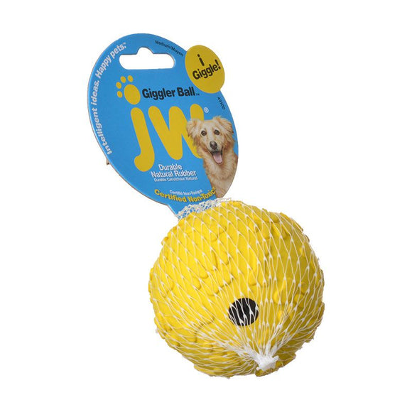 JW Pet Giggler Laughing Ball Dog Toy (43100)