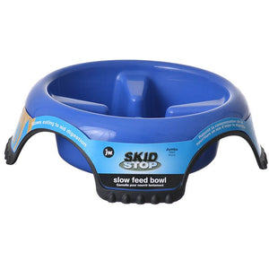 JW Pet Skid Stop Slow Feed Bowl (63242)