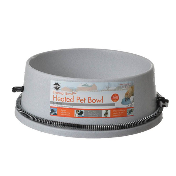 K&H Pet Products Thermal Bowl - Heated Water Bowl (2020)