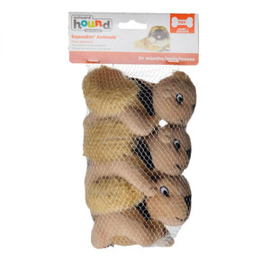 Plush Puppies Plush Squeakin' Animals - Squirrels (PP01045)