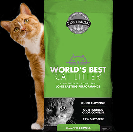 World's Best Cat Litter Clumping Formula Cat Litter 28 Lbs