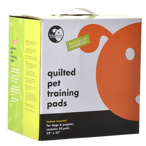 Lola Bean Quilted Pet Training Pads - Lemon Scent (12022)