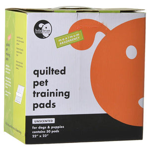 Lola Bean Quilted Pet Training Pads (12039)