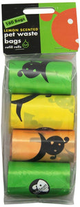 Lola Bean Pet Waste Bag Refills - Lemon Scent (12084)
