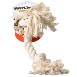 Flossy Chews Rope Bone - White (10006F)