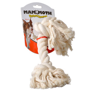 Flossy Chews Rope Bone - White (10008F)