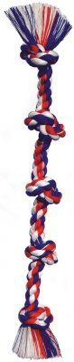 Flossy Chews Colored 5 Knot Tug Rope (20040F)