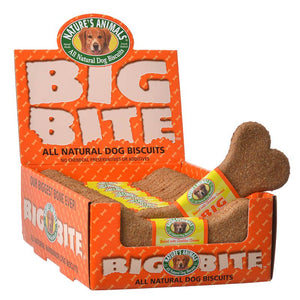 Natures Animals Big Bite Dog Treat - Cheddar Cheese Flavor (245)