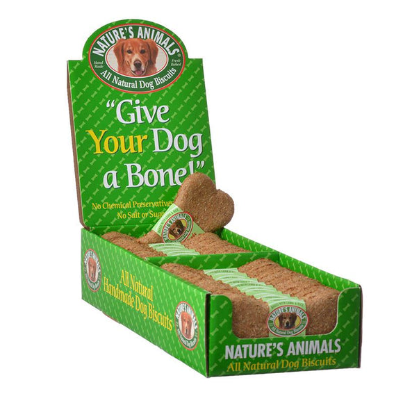 Natures Animals All Natural Dog Bone - Lamb & Rice Flavor (481)