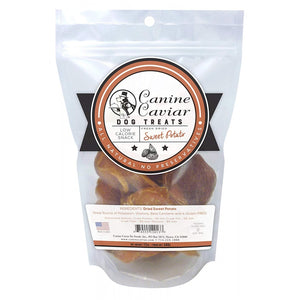 Canine Caviar Fresh Dried Sweet Potatoes Dog Treats (13388)