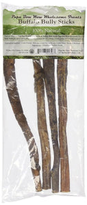 "Papa Bow Wow Buffalo Bully Sticks - 12"" Long (13463)"