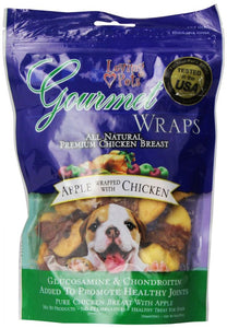 Loving Pets Gourmet Apple & Chicken Wraps (5560)