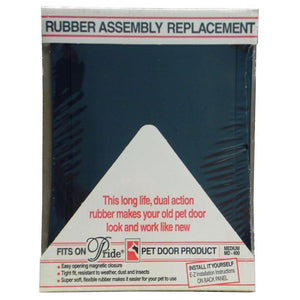 Pride Pet Doors Rubber Assembly Replacement Pet Door Flap (MD 400A)