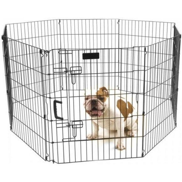 Precision Pet Ultimate Play Yard Exercise Pen - Black (7012530)