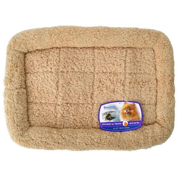 Precision Pet SnooZZy Crate Bumper Bed - Tan (7075572)