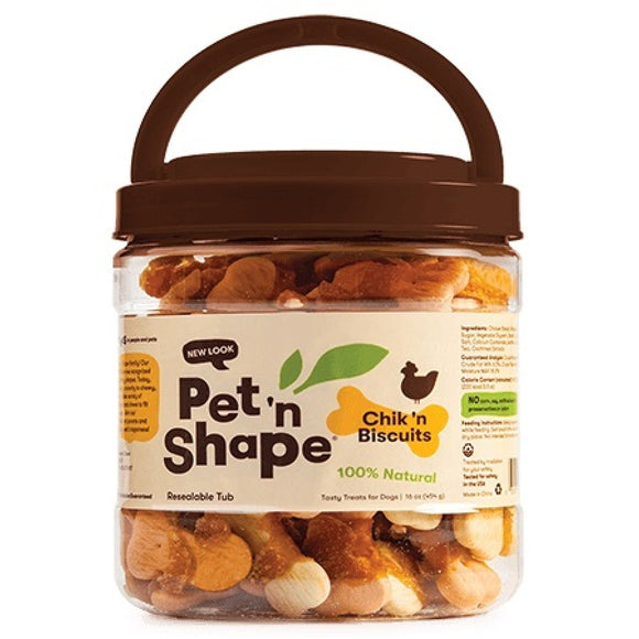 Pet 'n Shape Chik 'n Biscuits Dog Treats (10716)