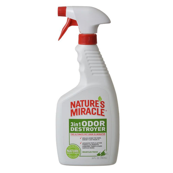 Nature's Miracle 3 in 1 Odor Destroyer - Mountain Fresh Scent (P-5453)