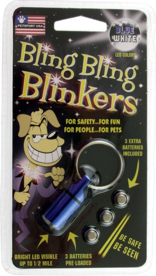 Petsport USA Bling Bling Blinkers - Assorted Colors (80005)