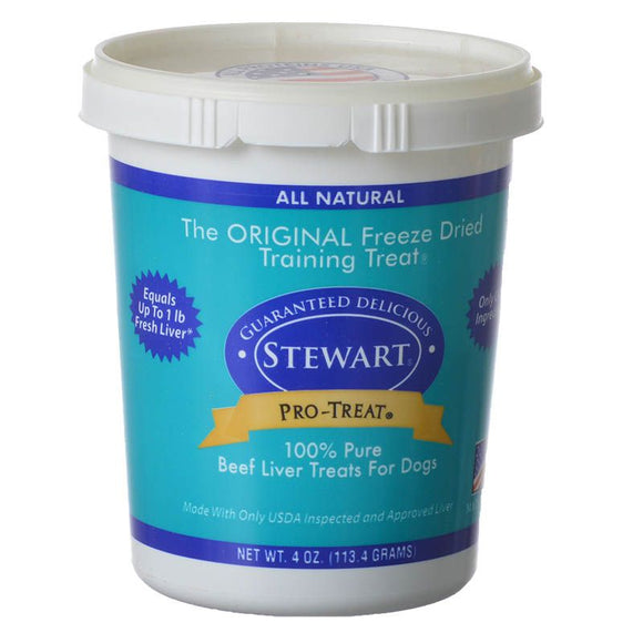 Stewart Pro-Treat 100% Pure Beef Liver for Dogs (400606 LFD3)