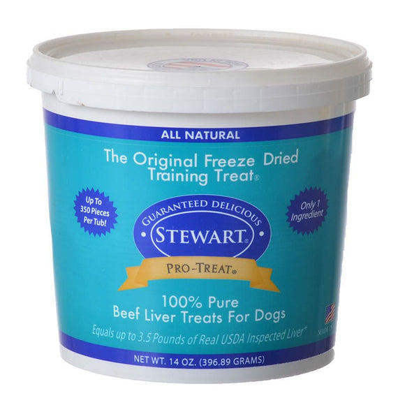 Stewart Pro-Treat 100% Pure Beef Liver for Dogs (400627)