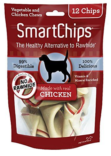 SmartBones SmartChips - Chicken & Vegetable Dog Chews (C-00230)