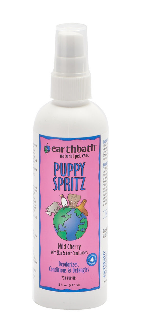 Earthbath Wild Cherry Puppy Spritz 8 Oz