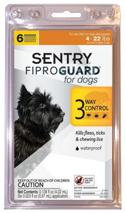 Sentry FiproGuard for Dogs (3070)