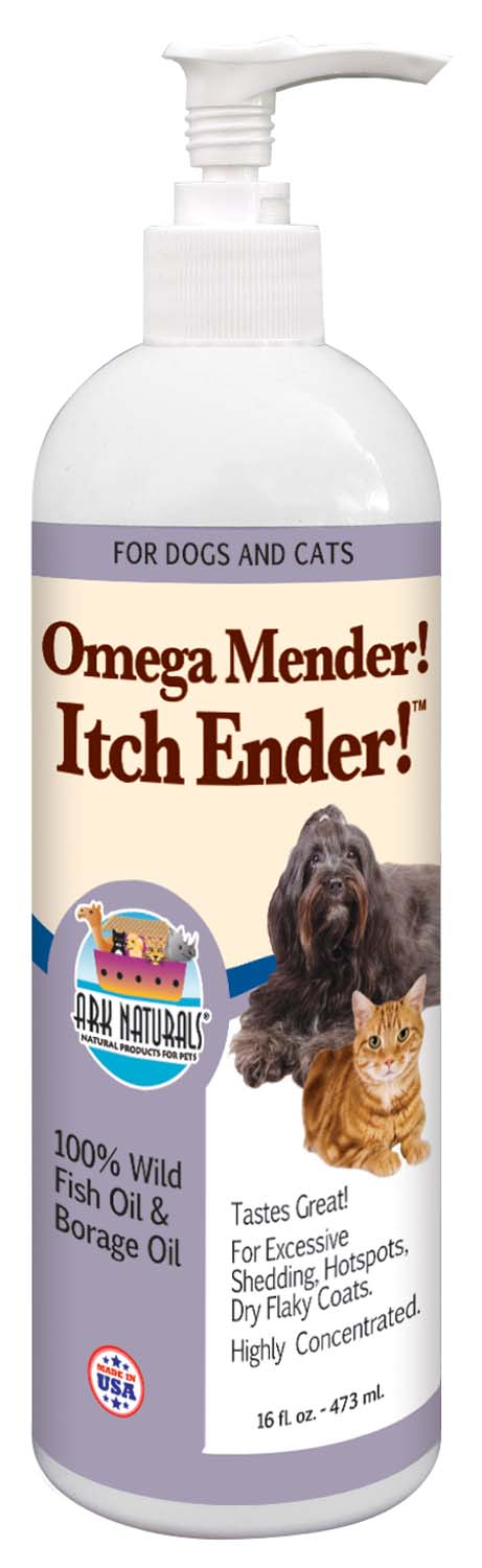 Ark Naturals Royal Coat Express  Omega Mender Itch Ender Oil for Dog & Cat 16 Oz