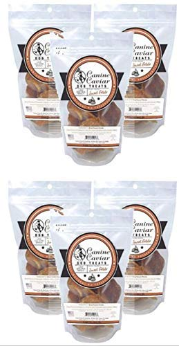 Canine Caviar Fresh Dried Sweet Potatoes Dog Treats (6 pack - 12 oz)