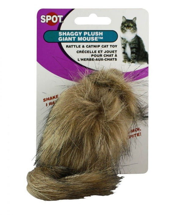 Spot Fur Mouse Cat Toy - Assorted (2922)