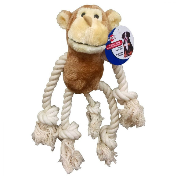 Spot Mop Pets Dog Toys - Monkey (4189)