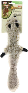 Spot Skinneeez Plush Raccoon Dog Toy (5501)