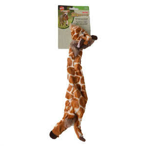 Spot Skinneeez Plush Giraffe Dog Toy (5706)