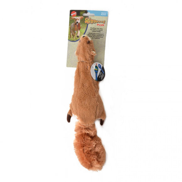 Spot Skinneeez Plus Plush Squirrel Dog Toy (5735)