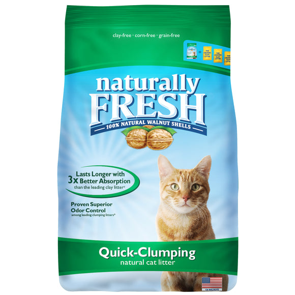Natural Fresh Quick-Clumping Cat Litter 14 Lbs