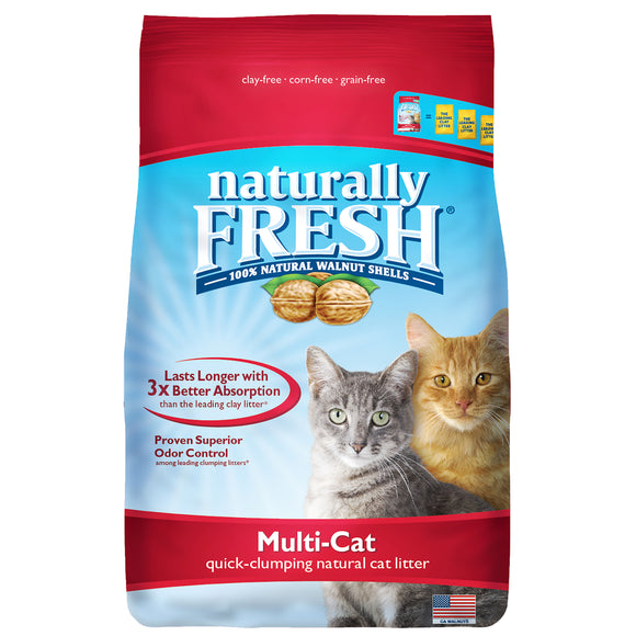 Natural Fresh New! Improved Multi-Cat Litter 14 Lbs
