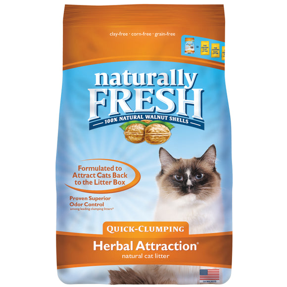 Natural Fresh Herbal Attraction Cat Litter 14 Lbs