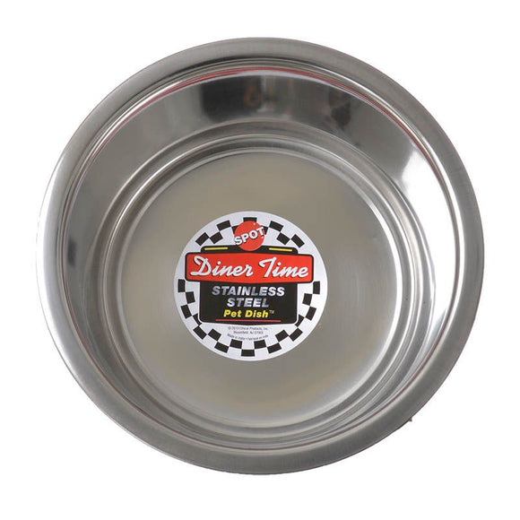 Spot Stainless Steel Pet Bowl (6062)