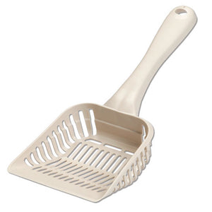 Petmate Litter Scoop with Microban Bleached Linen Color Giant