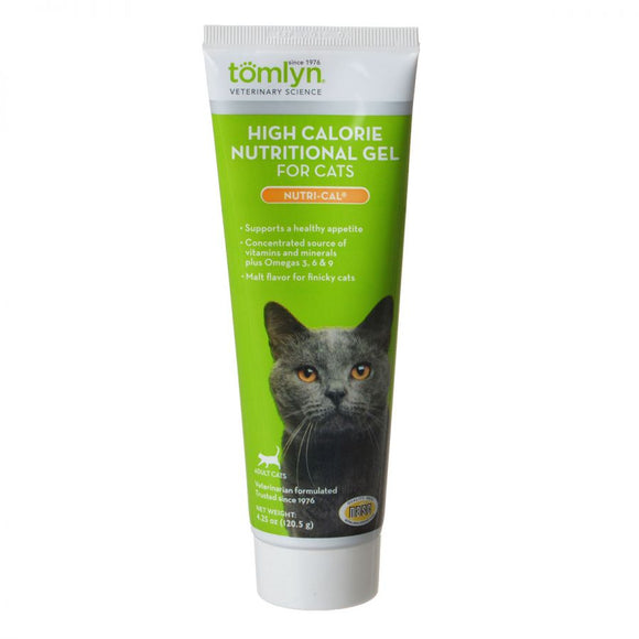 Tomlyn Nutri-Cal High Calorie Nutritional Gel for Cats (411564)