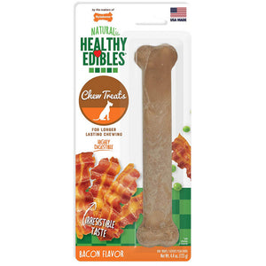 Nylabone Healthy Edibles Wholesome Dog Chews - Bacon Flavor (NEB104P)