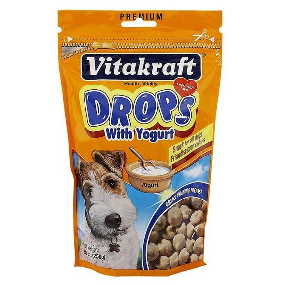 VitaKraft Drops with Yogurt Dog Treats (23002)