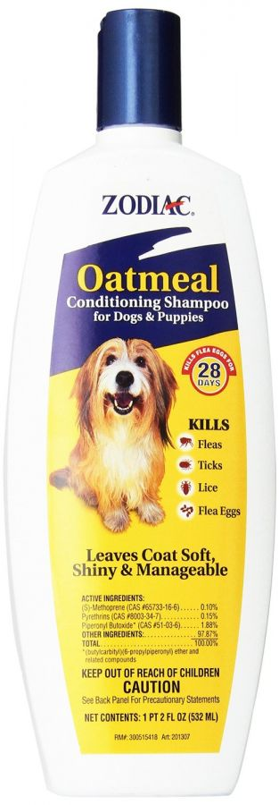 Zodiac Oatmeal Conditioning Shampoo for Dogs & Puppies (100502209)