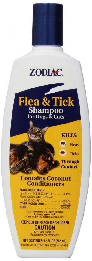 Zodiac Flea & Tick Shampoo For Dogs & Cats (100505847)
