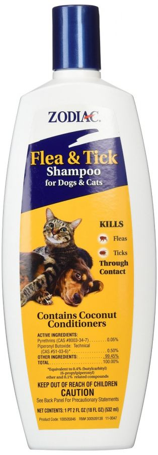Zodiac Flea & Tick Shampoo For Dogs & Cats (100505846)