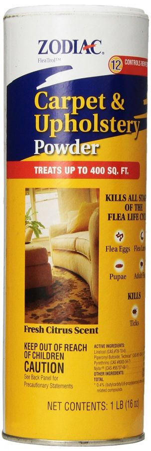 Zodiac Flea Control Carpet & Upholstery Powder (28000)