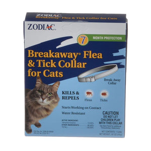Zodiac Breakaway Flea & Tick Collar for Cats (100520395)